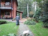 Загородный дом, начало работ