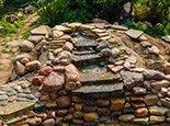Сочетание камней разного цвета
