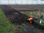 Подготовка к посеву или настилу газона